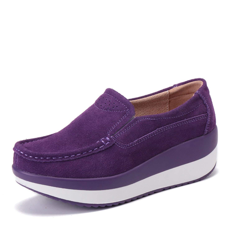 Zcaosma Women Flat Platform Loafers Cloth Moccasins Fringe Shoes Woman Slip On Women Casual Shoes