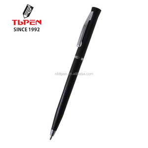 Hilton Hotel use promotion plastic black ball pen