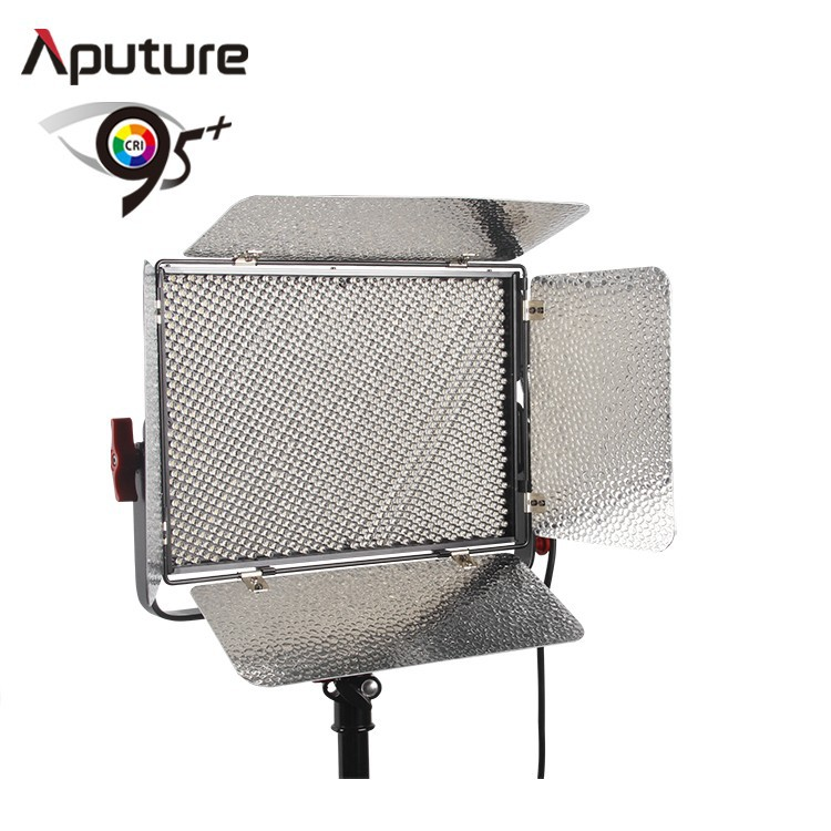 Aputure CRI95+ Light Storm LS 1s 1536 Lamp Beads LED Panel Video Photo Light with Gold amount battery plate or V-mount