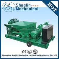 High density concrete hollow core floor slab making machine with low noise