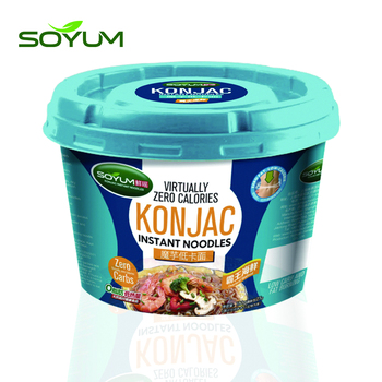 Low calories weightloss instant konjac noodles (OEM package)