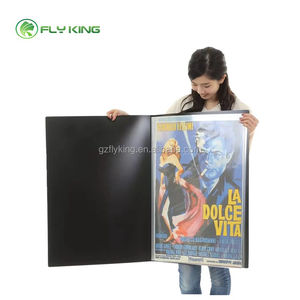 Guangzhou Clear Plastic 20 Pockets Poster Display Book