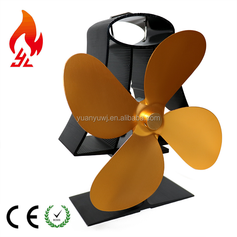 Custom Color Free stand Heat powered Stove Eco Fan