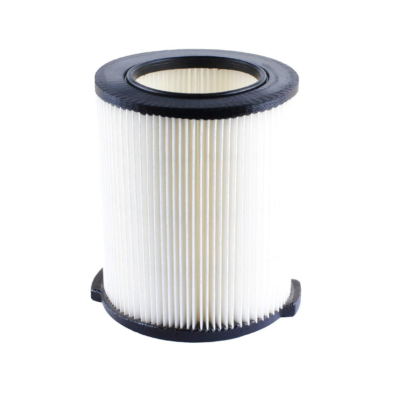 Poweka VF4000 Filter Replace Ridgid 1-Layer Wet Dry Vac Filters 72947 for Ridgid 5-20 Gallon Husky 6 to 9 Gallons Vacuums