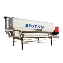 2017 30-40ton portable steel horizontal cement silo with high quality