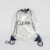 2019 fashion high quality waterproof clear pvc drawstring logo bag backpack