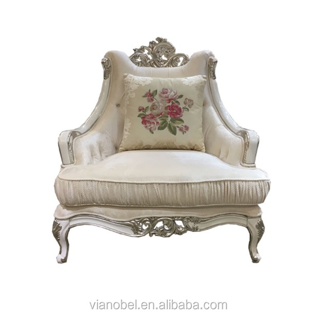 French Louis XVI Style Gold Leaf Gilt Wood Frame Sofa Meyer, Gunther, Martini -New York
