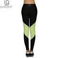 Spring Autumn Women s Sport Leggings Yoga Pants Active Patchwork Mid Waist Elastic Gym Fitness Workout