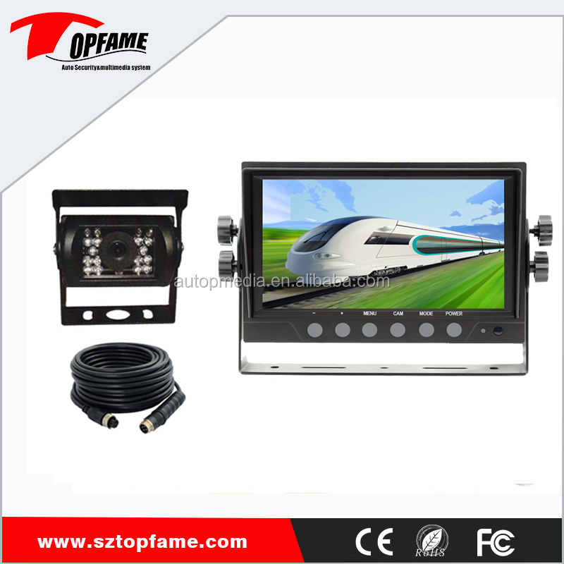 Backup Camera System >> Truck Bus Van Etc Backup Camera System With 7inch Digital Lcd Monitor Rear View Camera 2 Years Warranty Buy Car Rear View Camera Bus Camera
