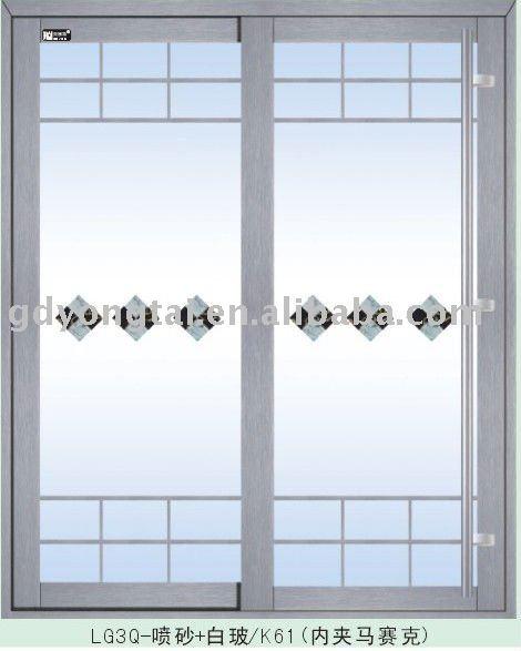 Puertas de aluminio con cristal para exterior for Puertas de vidrio corredizas para exteriores