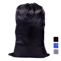 custom logo color size drawstring laundry bag for advertisement
