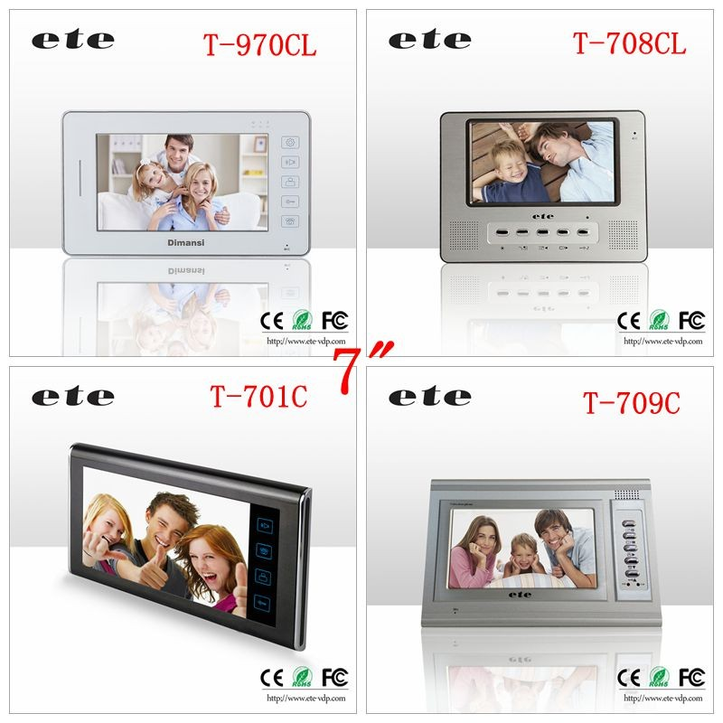 Ete Home Security Wireless Alarm System Video Intercom Ip Camera ...
