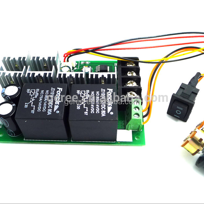 12V 24V 36V 48V 40A Forward Reverse reversible DC Motor Speed Control For Brush Motor