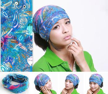 Head Face Mask Neck Multi Wear Tube Bandana Scarf Wrap Buy Cotton
