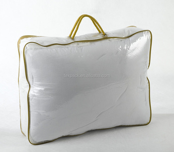 Whole Clear Vinyl Pvc Zipper Storage Bags With Handles