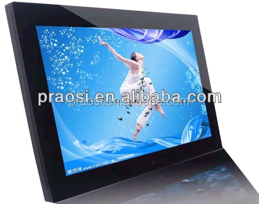 Wholesale 15 inch Super thin Digital Photo Frame With LED screen Black