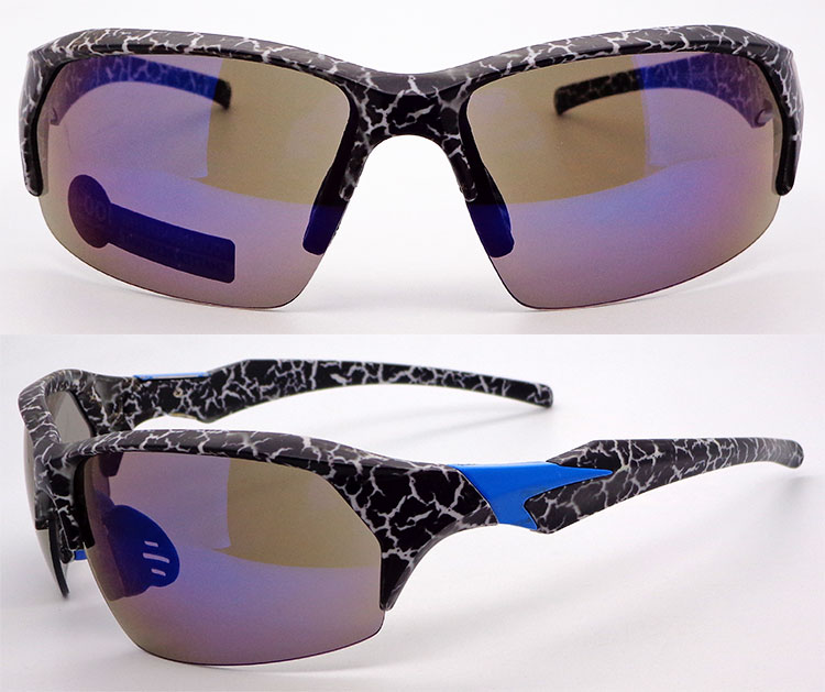 Factory price black white tortoise PC shtter resistance Sports Sunglasses For Man Women Cycling