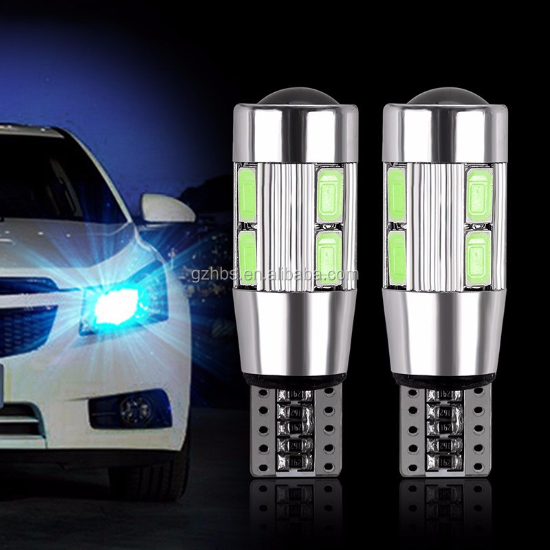 Auto Verlichting Led T10 Canbus 194 W5W 10SMD 5730 Led T10 Gloeilamp Led Light Parking Lamp Auto Lampen led Voor Auto