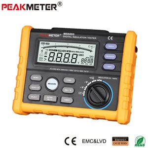 High voltage electric digital tester megger 1000V Digital Insulation resistance instrument Tester