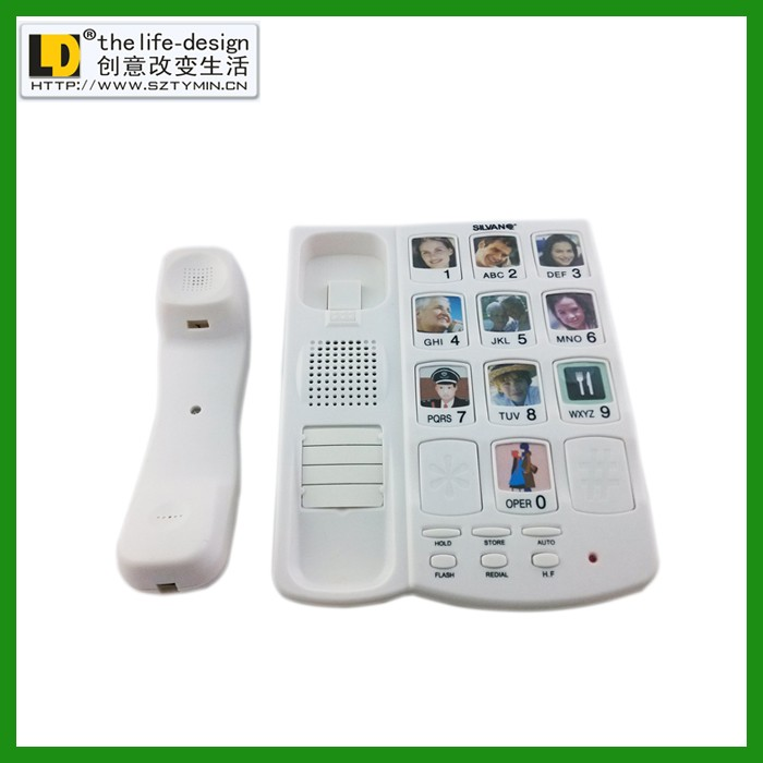 Tm-pa038 Corded Home Phones Home Phone Plans Large Number