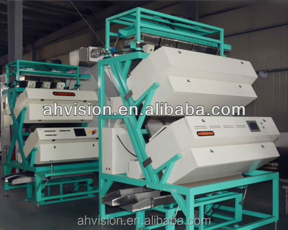 2016 New Style VSEE CCD Color Sorter for tea processing,colour scanning machine helps to make high sorted coffee beans