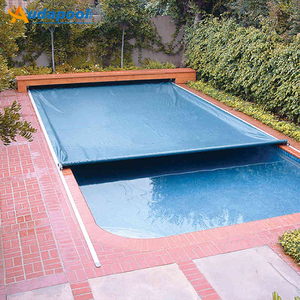 China factory winter safety swimming pool cover, automatic PVC waterproof  pool covers