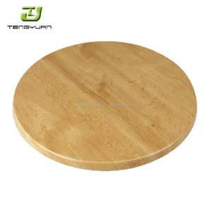 "Removable Restaurant Dining Table Square Dining Table Top with Wood Veneer Surface--24""*30"""