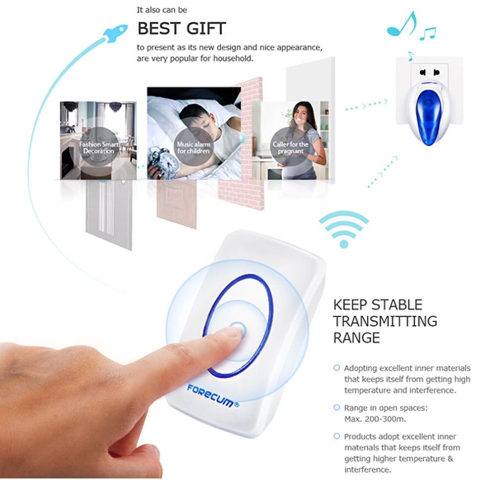 Voice Door Chimes Suppliers And Manufacturers At Remote Doorbell Warning Switch
