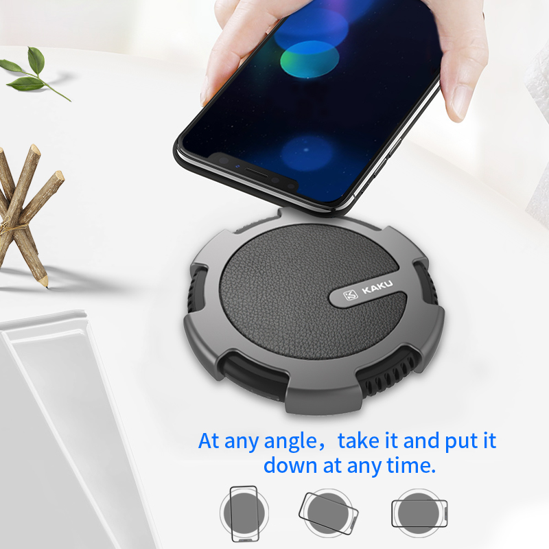 2017 Qi High quality universal portable fast speed cell phone quick wireless pad charging charger for wireless charging iphone