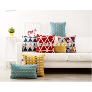 China high quality cushion sofa manufacture for the digital print cushion and a good team to design home cushion