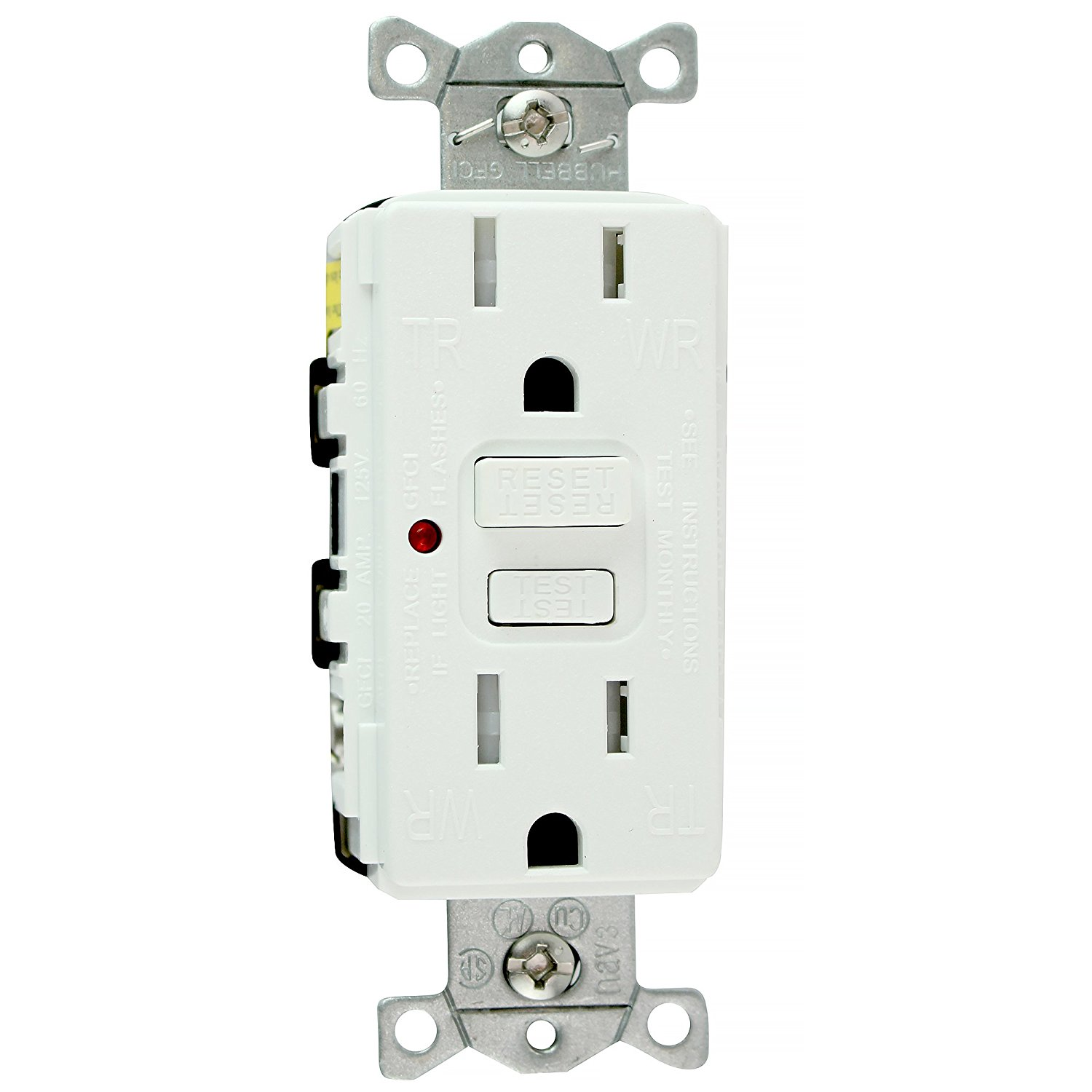 Buy Hubbell Wiring Systems Gftr15r Tradeselect Gfci Duplex