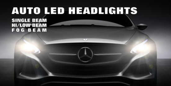 Auto Light System Car Led Headlight Kit 40w 4000lm 6000k Most