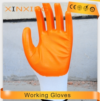 Wholesale Ppe Cut Resistant Suppliers Nylon Nitrile Coated Working Safety  Nitrile Glove China Manufacturer - Buy Working Nitrile Glove China