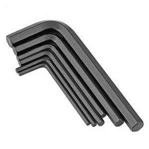 M0.7 M0.9 M2 M12 Alloy steel nickel plated allen key wrench