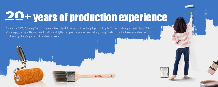 China Local Factory Paint Accessories Brush Handle