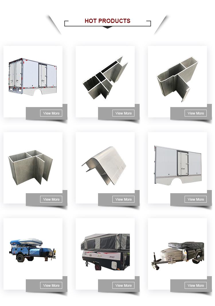 Proporcionar alta calidad cuerpo de aluminio caja de camión paneles del cuerpo