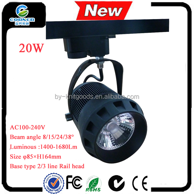 2015 new deisgn 20w 1400lm with CE ROHS certification high power led <strong>spotlight</strong>