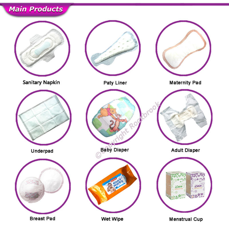 Hot Sale Good Quality Competitive Price Comfortable Panty Liners Manufacturer from China