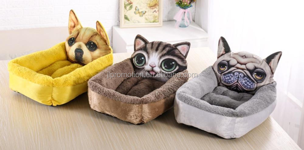 Dogs Kennel Memory Foam Animals Bed