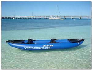 intex 2 Person Blue Rafting Canoe Kayak Inflatable Rubber Boat Raft