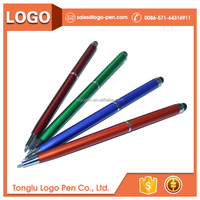 diamond marker cheap promotional stylus ball pen with light