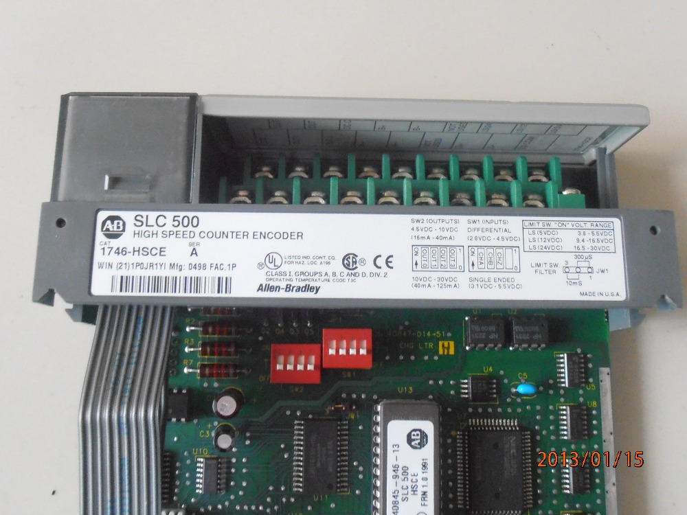 100% Original 1746-HSCE SLC500 AB PLC Hot sale