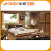 ISO9001 Bed Room Furniture Solid Wood French Bedroom Set