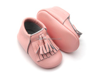 2016 Hot Sale Leather Fancy Baby Girls Winter shoes Designer Baby Shoes