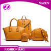 2016 Hot sale one day travel bag elegance handbags wholesale shopping india 4 pcs in 1 set bags daily use handbags