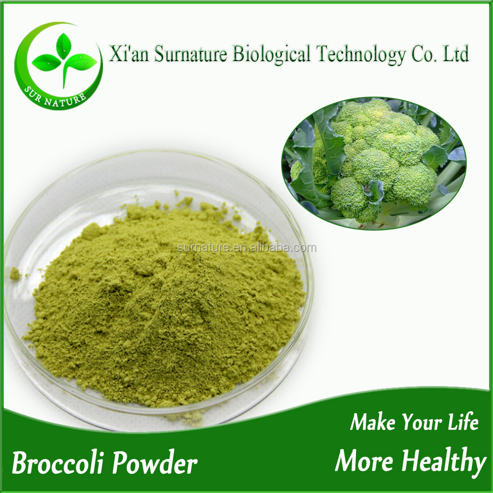 High Quality Frozen Dried Cauliflower Powder/Organic Broccoli Sprout Powder