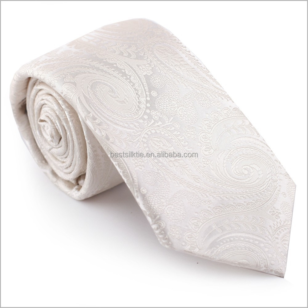 Silk Stylish Jacquard Paisley Tie