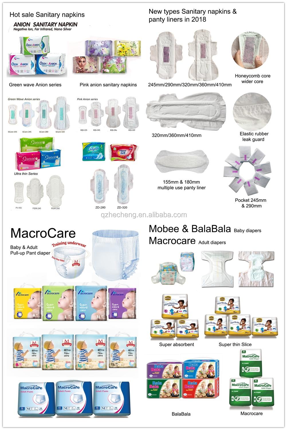 Macrocare de pañales desechables para bebés/pañales pantalón tipo