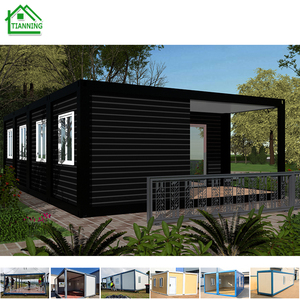 new luxury prefab 20ft portable container house for sale
