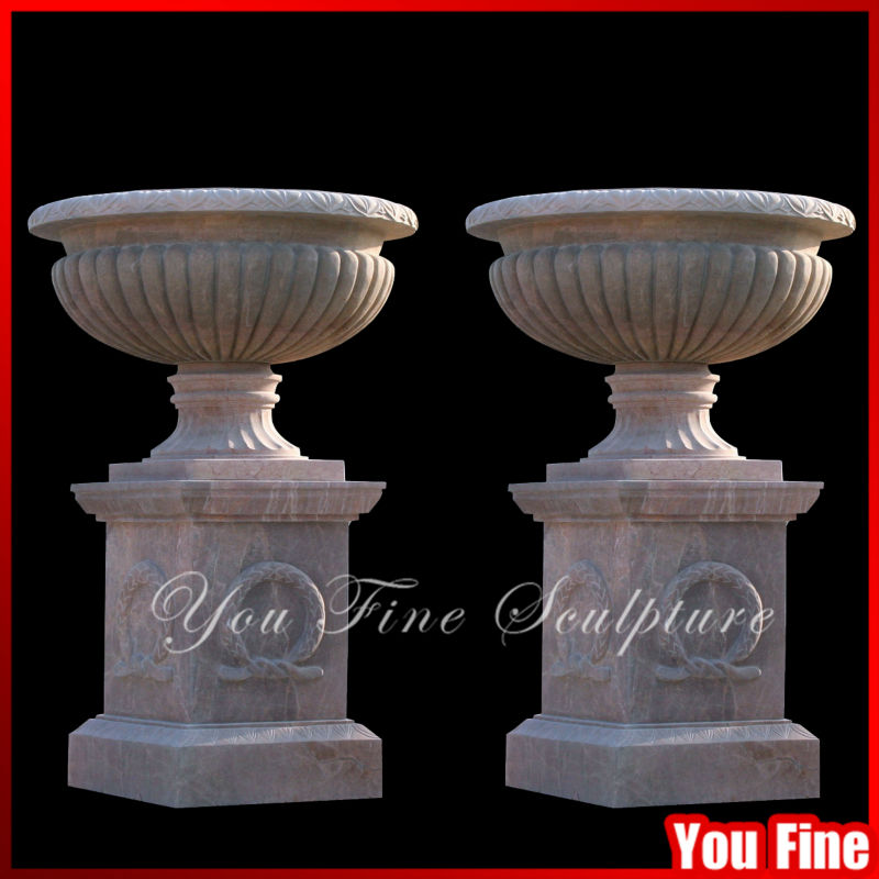 Superbe Natural Stone Flower Pot Large Garden Vases Big Garden Flower Pots   Buy  Big Garden Flower Pots,Large Garden Vases,Natural Stone Flower Pots Product  ...